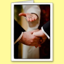 Grooms Gay Wedding Commitment Ceremony LOVE Cards