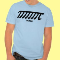 Octopi Pi Octopus Tentacle Math Arithmetic Humor Tshirts