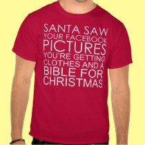 SANTA'S NAUGHTY LIST DIRTY SANTA JOKE SHIRT